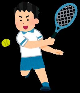テニス好き駐在員
